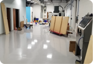 Conductive and ESD floors